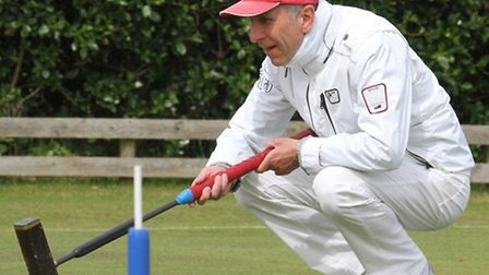 Players from across Europe played in the competition at Budleigh Salterton Croquet Club over the wee