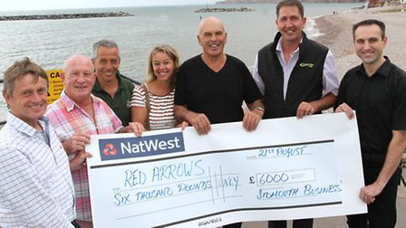Cash for the Red Arrows-Edward Willis-Fleming from Sidmouth Design, Tom Griffiths, Ian Barlow, Sara