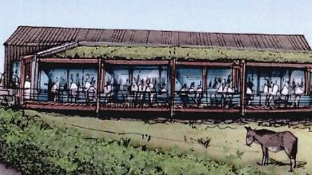 An artist's impression of how the new restaurant could look