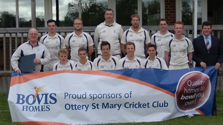 Ottery St Mary, the 2015 Tolchards Devon League C Division East champions.