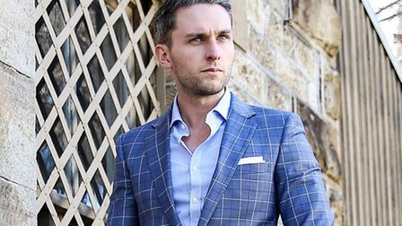Blogger and designer Miles Wharton was named one of the best dressed men in Australia.