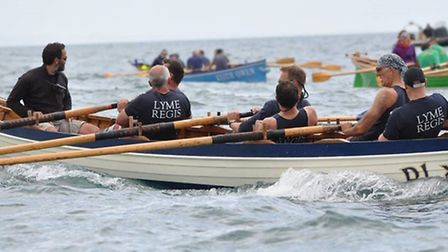 Action from the Lyme Regis Regatta