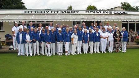 Ottery St Mary bowls. The final drive of the 2105 outdoor season