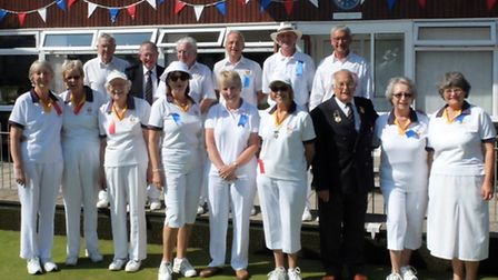 Sidmouth Bowls Club finals