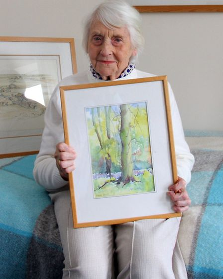 Rose Lawn Care Home resident, Diana Davis, will be hosting her first ever art exhibition. Ref shs 90