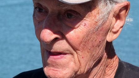 Tony Faulkner, a mere 87-years-young, who raced in the Sidmouth Gig Club men's C crew and who took a
