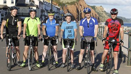 On a journey for Jake are Chris Small,George Powell,Laurence Graves,Brendan Agar,Craig FitzHenry and