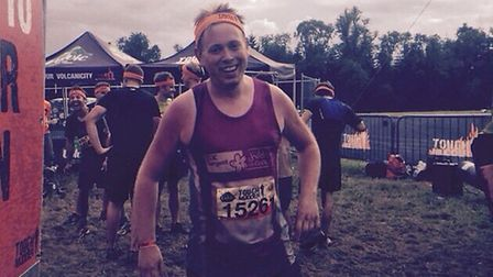 Ian West completed the gruelling Tough Mudder challenge to raise £1030 for CLIC Sargent
