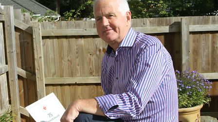Champion Donor-Stowford resident Roger Huggins will soon be donating his 100th pint of blood. Ref s