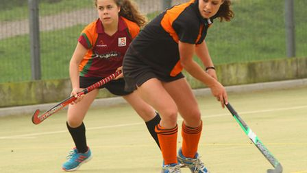 Sidmouth and Ottery Hockey Ladies 4th team played Honiton ladies at the weekend. Ref mhsp 1372-42-15