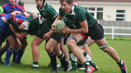 Sidmouth Under-16 action