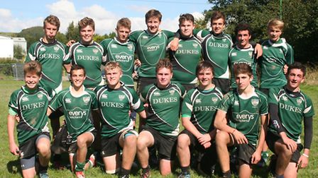 Sidmouth RFC Under-16 team