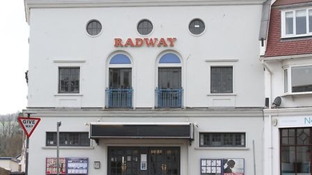 The Radway cinema in Sidmouth. Photo by Simon Horn. Ref shs 7345-13-14SH To order your copy of this