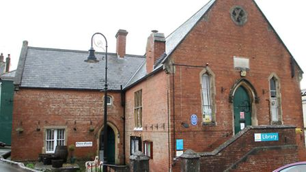 Ottery St. Mary library. Ref sho 3398-50-14AW. Picture: Alex Walton.