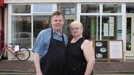 Contrary to rumours Steve and Lyn Clarke from The Rendezvous on Fore Street are keen to set the reco