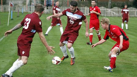 Sidbury Utd suffered a home defeat by two goals to nil by Chard 2nds. Ref shsp 5571-44-15TI. Picture