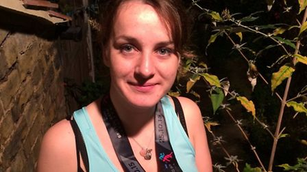 Kirsty Trent completed her first ever marathon and raised £547.57 for Sidmouth Hospiscare