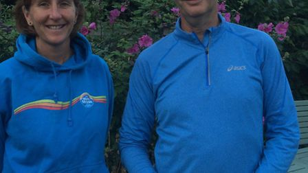 Sue Wiltshire and Daryl Bass the Sidmouth Tennis Club coaches