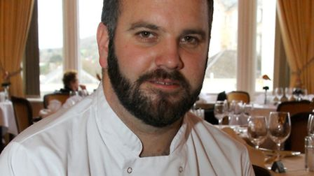 Victoria Hotel's head chef, Stuart White, wins the Seaside Chef of the Year award. Ref shs 4434-47-1
