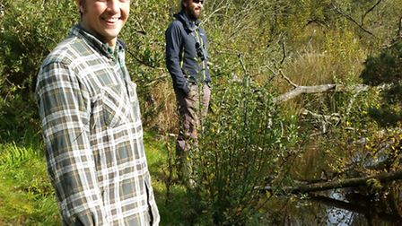 PhD student Hugh Graham will be studying the impact of the beavers