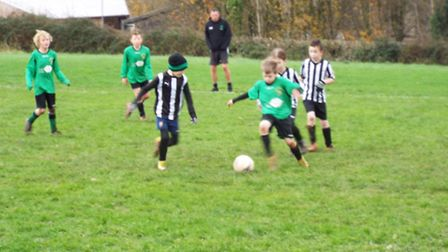 Sidmouth U10 action