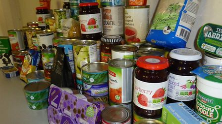 The Sid Valley Food Bank was burgled on Sunday (November 29)