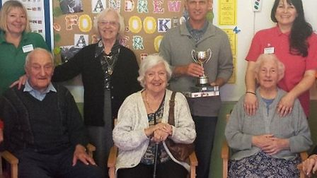 Malden House claimed gold again at the Sidmouth in Bloom awards