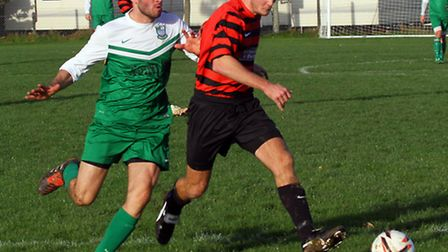 Seaton Town played against Sidmouth Town at the weekend. Ref shsp 4589-48-15AW. Picture: Alex Walton