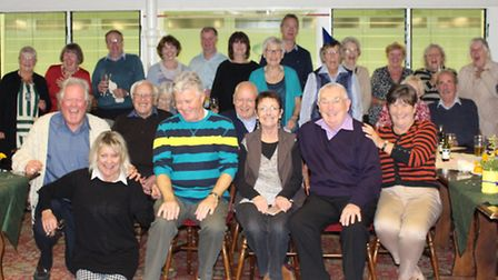 Sidmouth Bowls Clubs Ann England organised a celebration presentation evening for the 27 members who
