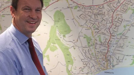 Estate agent Mike Dibble has suggested a one-way route to alleviate issues when Temple Street closes