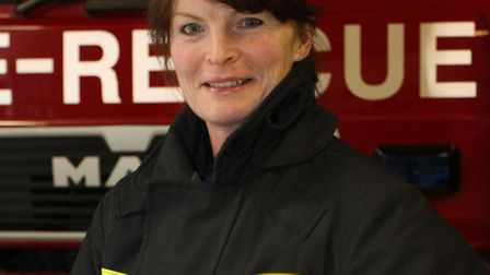 Sally Neal has become Sidmouth's first female Crew Manager. Ref shs 7512-48-15SH. Picture: Simon Hor