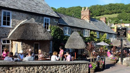 The Mason Arms in Branscombe has been named number five in a poll by The Times.