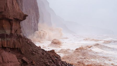 Pennington Point has taken a battering in recent weeks. Picture: Eve Mathews.