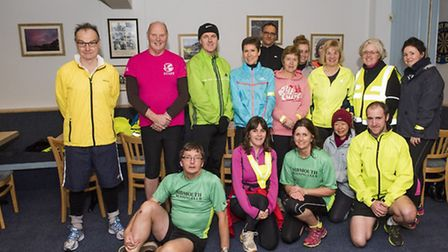 The latest new members to run with Sidmouth Running Club