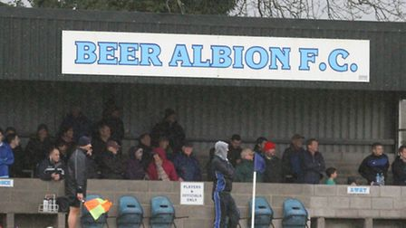 Beer at home to Honiton. Ref shsp 02-16TI 9029. Picture: Terry Ife