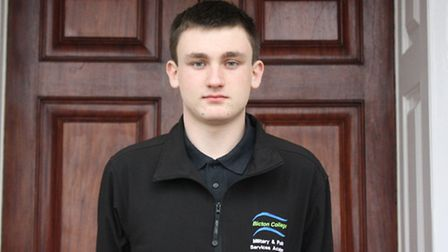 Oliver Moore-Jones from Sidmouth has been nominated for Young Volunteer of the Year.