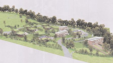 An impression of what the proposed development at Barton Orchard would look like