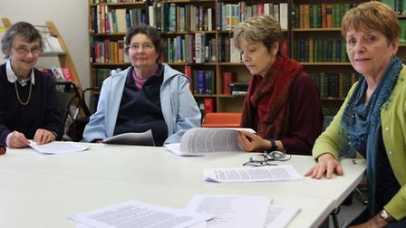 Maureen Thurlow (right) will be running a weekly Memory Group at the Sidmouth Library for people wit