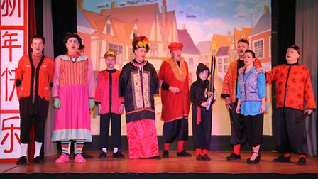 Riverside players performance of Aladdin. Ref shs 06-16TI 0547. Picture: Terry Ife