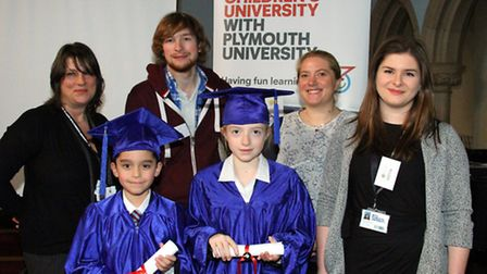 Pupils from St John's International School have been learning all about the Children's University sc