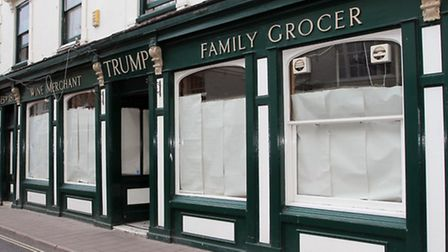 Trumps in Fore Street. Ref shs 4857-36-14TI. Picture: Terry Ife
