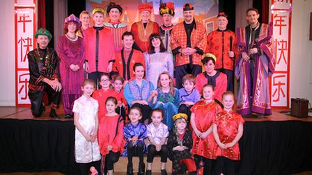 Riverside players performance of Aladdin. Ref shs 06-16TI 0502. Picture: Terry Ife