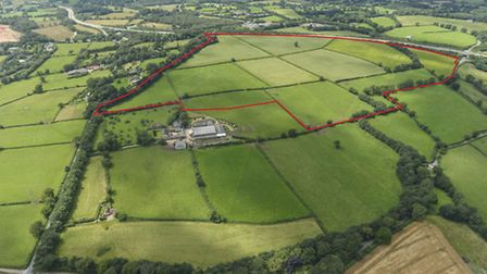 Straitgate quarry plans aerial view