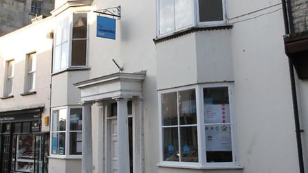 The Co-operative Bank on the High Street in Sidmouth. Ref shs 3048-04-16SH. Picture: Simon Horn