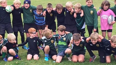 Sidmouth Under-9 squad