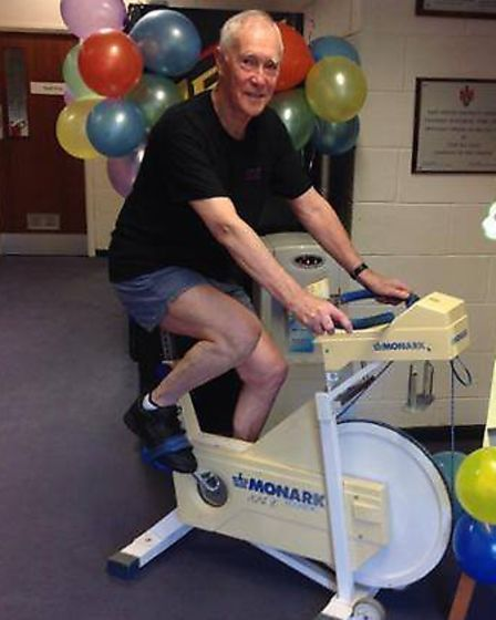 Alan Cook is a long-running (and cycling) customer at Ottery Leisure Centre.