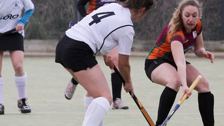 Sidmouth & Ottery ladies 1st team at home to Bridgewater. Ref shsp 09-16TI 1557. Picture: Terry Ife