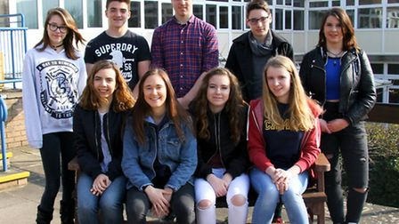 Sidmouth College students prepare for their visit to Borneo. Ref shs 12-16AW 1321. Picture: Alex Wal