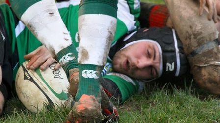 Sidmouth 3rds were at home to Cullompton at the weekend. Ref shsp 10-16AW 0034. Picture: Alex Walton