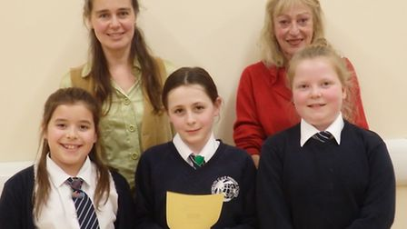 Teams from Sidmouth Primary School made it to the second round of the Youth Speaks competition.